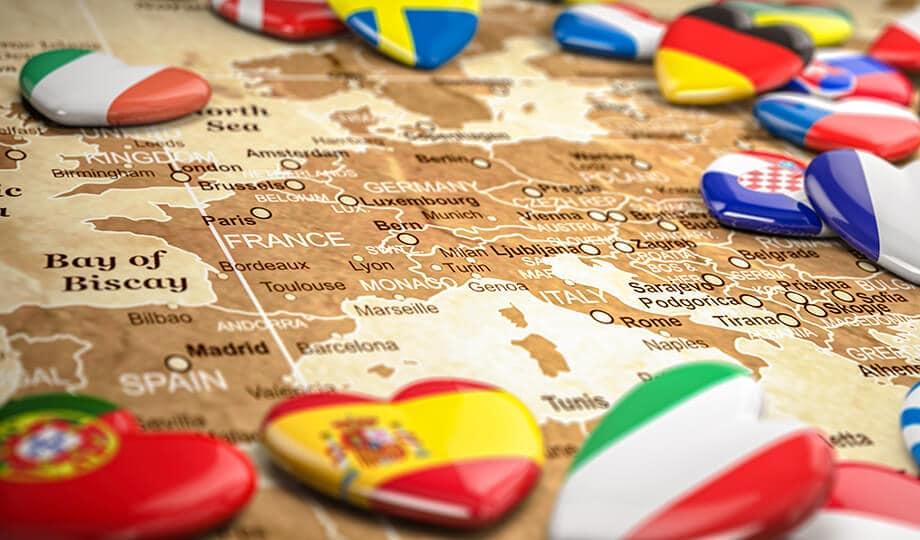 Países europeos exentos de despacho de aduanas