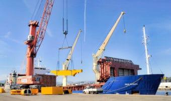 Carga de proyectos especiales vía marítima - Project Cargo