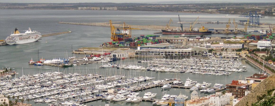 Puerto de Alicante - Sede de Grupo Marítima Sureste