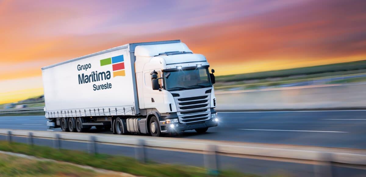 Servicio de Transporte terrestre de mercancías por carretera