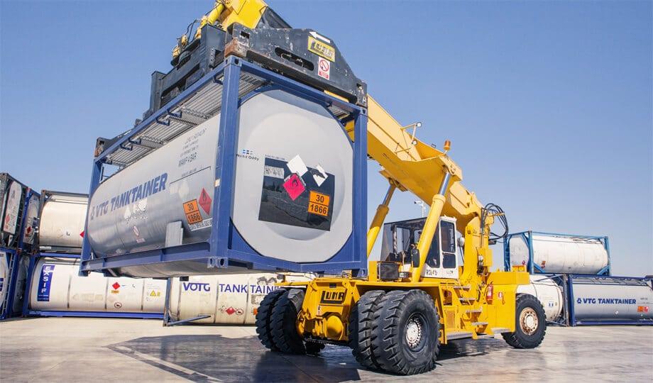 Transporte IMO de mercancías peligrosas en barco por via marítima