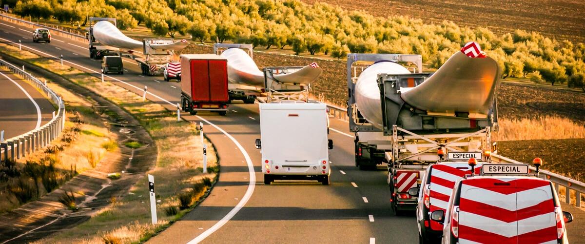 Transporte nacional de carga especial por carretera en España