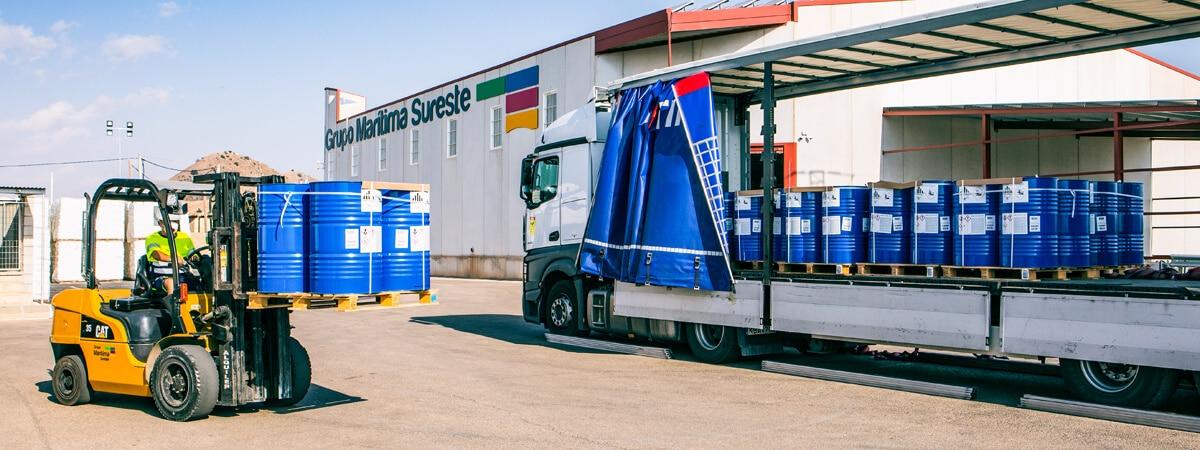 Transporte de mercancías peligrosas por carretera ADR