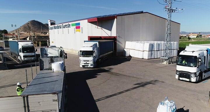 Empresa de transporte de mercancías por carretera