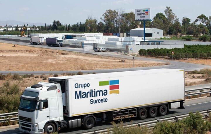 Transporte nacional de mercancías en camión - Grupo Marítima Sureste