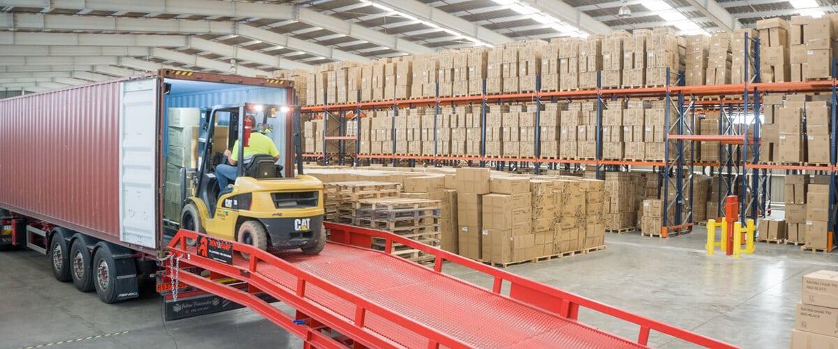 Funciones de la logística - Carga, descarga y almacenamiento - Grupo Marítima Sureste