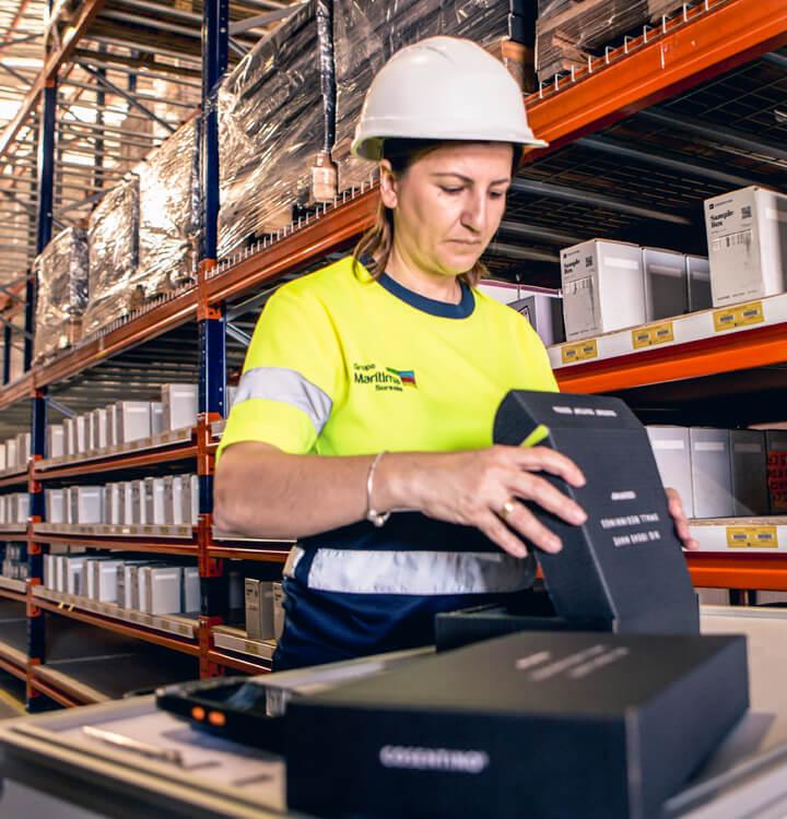 Preparación de pedidos de Ecommerce - Material utilizado y tamaño adecuado a los productos