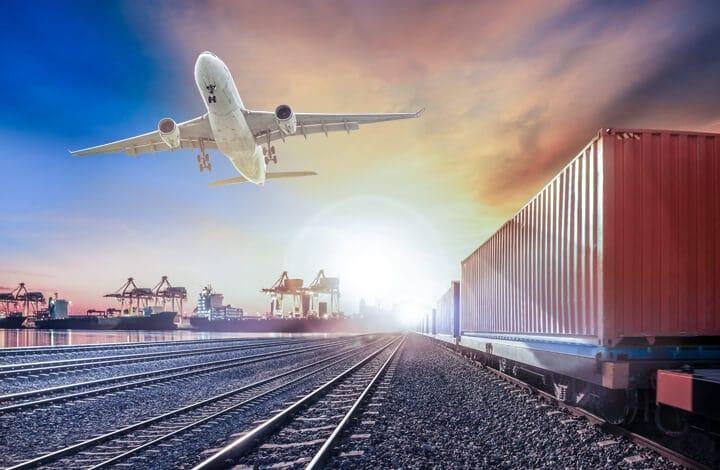 Servicios de transporte complementarios al marítimo - transporte aéreo y terrestre