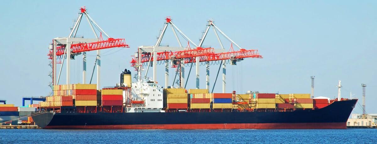 Transporte marítimo de mercancías en contenedor