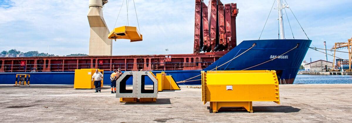Transporte marítimo de mercancías sobredimensionadas en barco Project Cargo