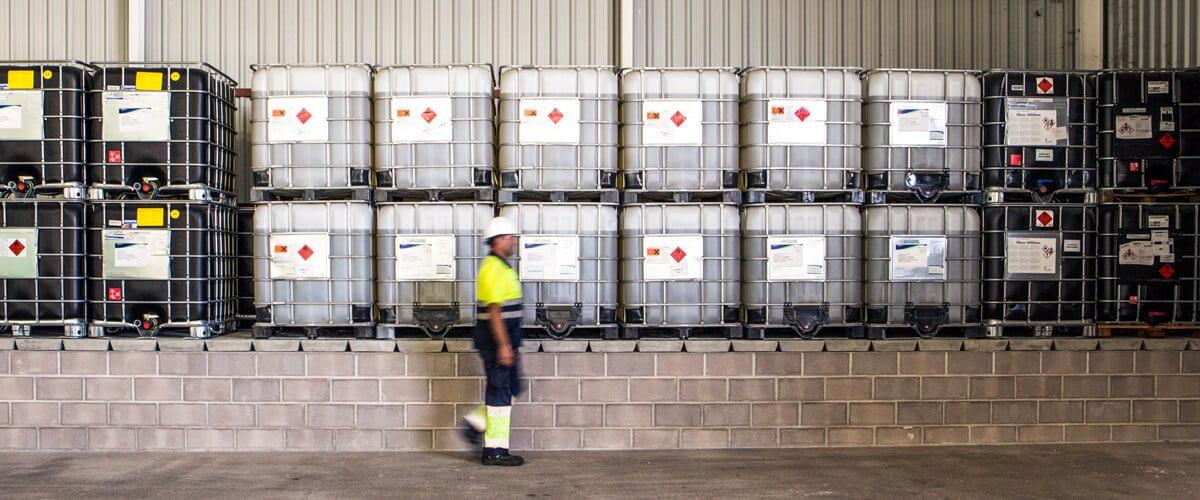 ADR Dangerous Goods Warehouse with APQ 10