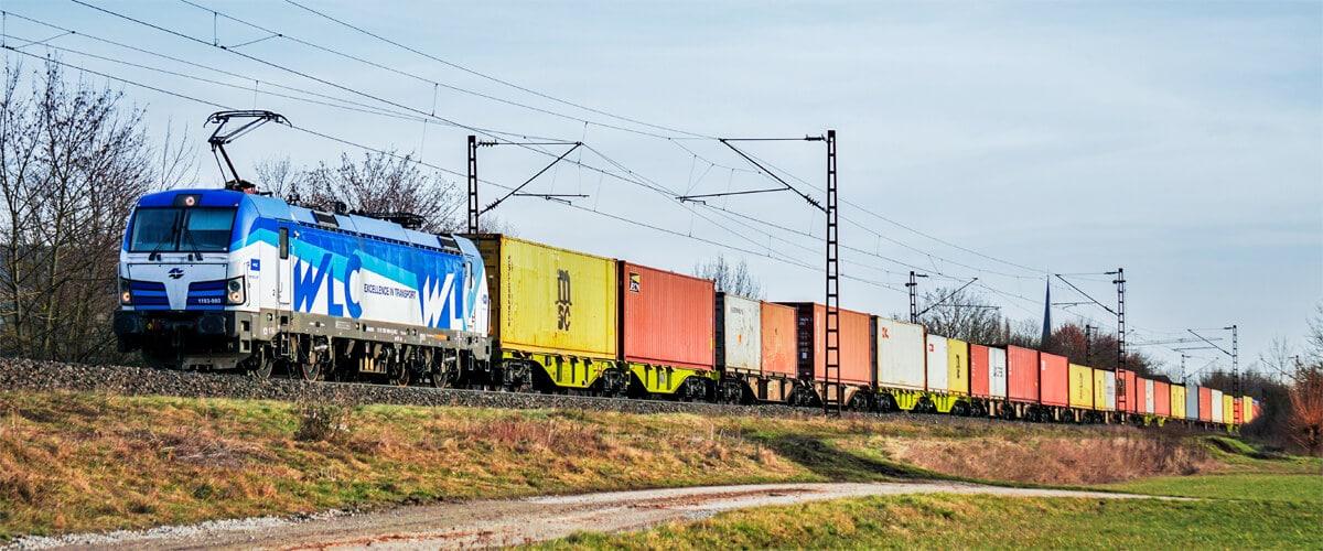 International rail freight transport by train
