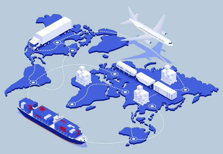 International Supply Chain - Logistics in Spain and UK by Marítima Sureste