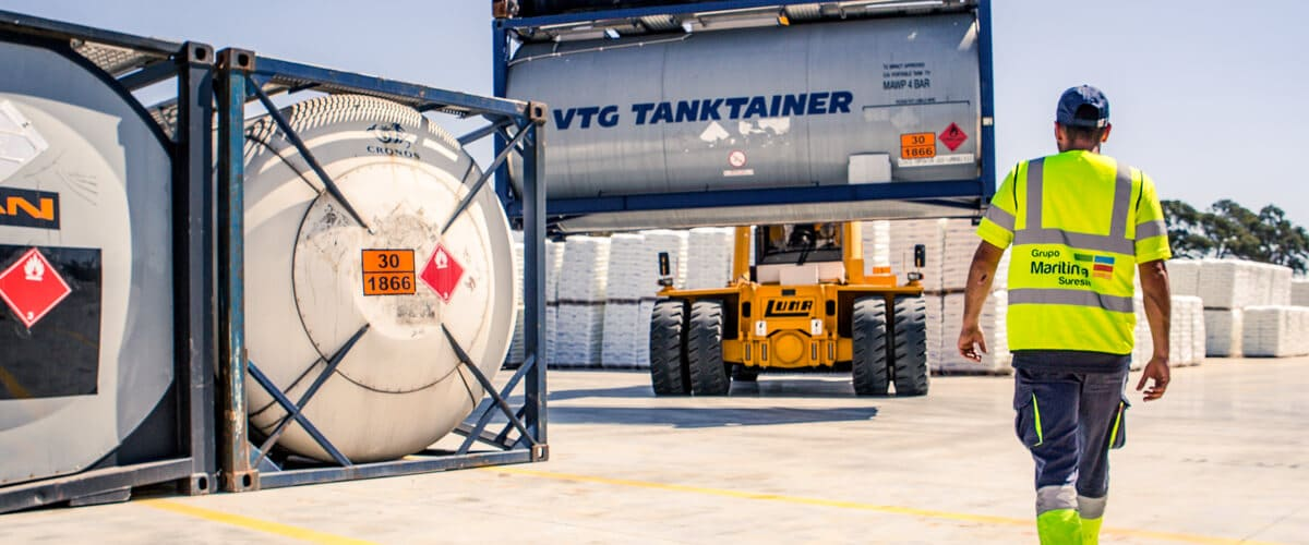 Tank container depot ADR IMO Murcia SPAIN