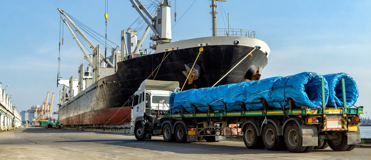 Project Cargo special transport by sea